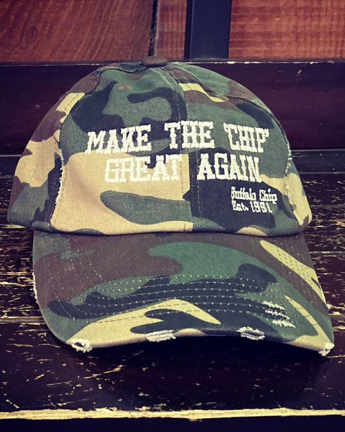 Make The Buffalo Chip Great Again Camo Hat