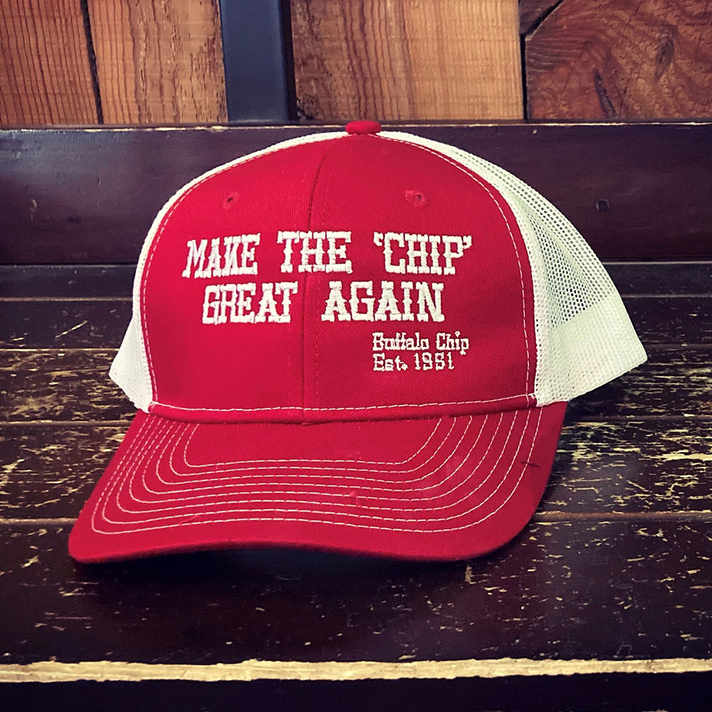 make the buffalo chip great again red hat